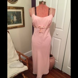Jessica McClintock pink gown